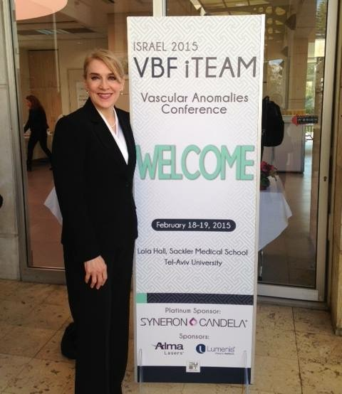 Dr. Linda welcomes physicians and families to the 2015 VBF iTEAM Conference in Israel.
